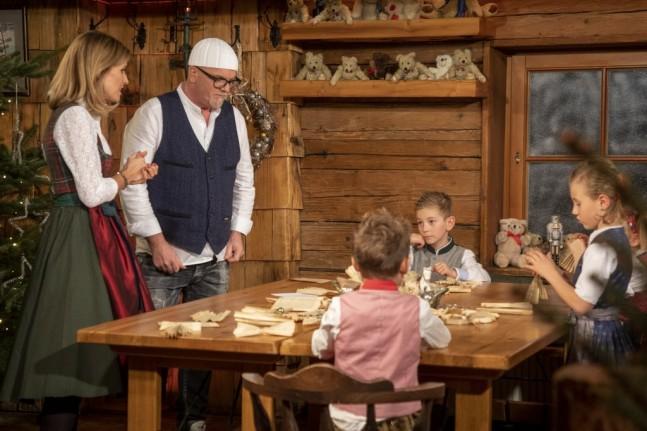 Sonja und Gerry mit Flachauer Kindern