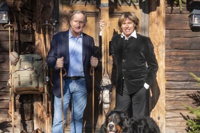 Die Ski-Legenden Franz Klammer und Hansi Hinterseer